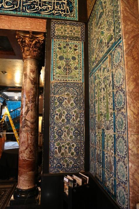 Leighton House Damascus Tile, De Morgan reproductions