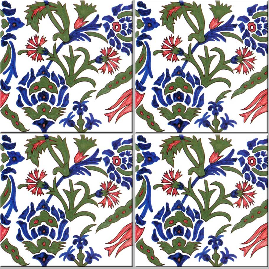 Morris and Co. early Persian design commissioned by Philip Webb
