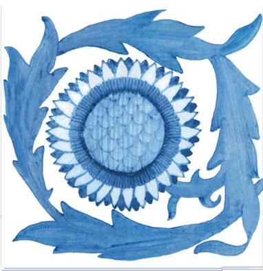 William Morris sunflower