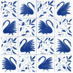 Kelmscott swans