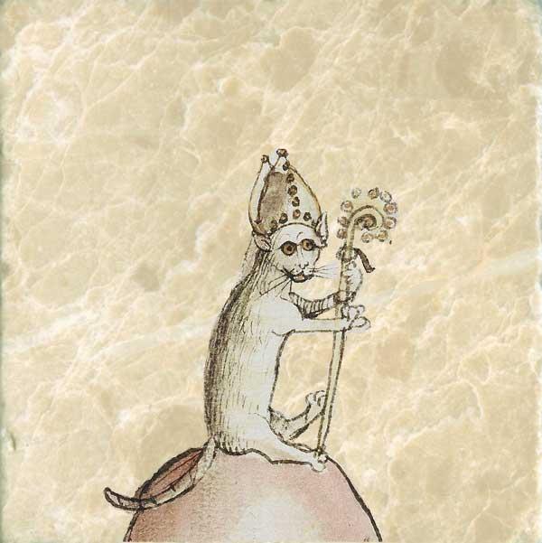 Cat Bishop, 15th Century German cat