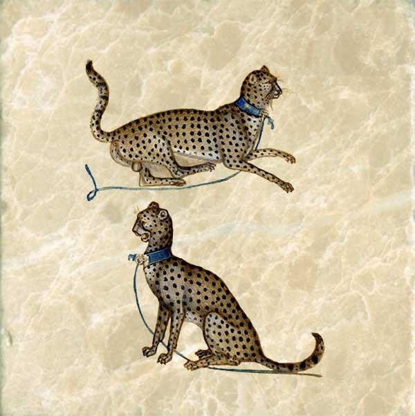 Giovanni de Grassi Cheetahs, 1350-1398