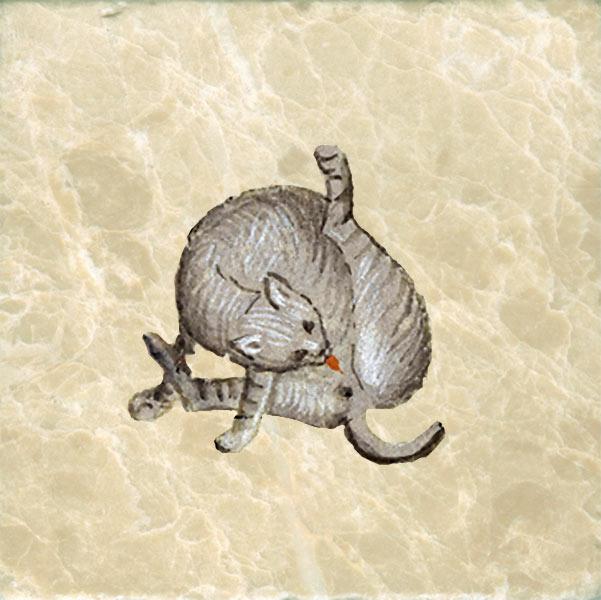 Allegedly, Geoffrey Chaucer's Cat
