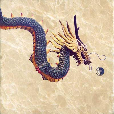 Bakunawa, a giant sea serpent dragon from the Philippines with a mouth the size of a lake. The Bakunawa eats the seven moons and causes eclipses. To keep the moons from completely being swallowed, startle the Bakunawa by banging pots and pans.  This will cause him to spit out the moon back into the sky.
