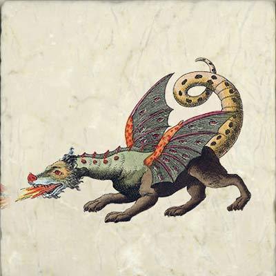 Celtic Dragon, Friedrich Johann Justin Bertuch, Bilderbuch fur Kinder 1806