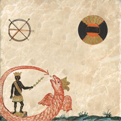 Uricus, a red-crowned and winged ouroboros dragon, as King of the East, Clavis Inferni