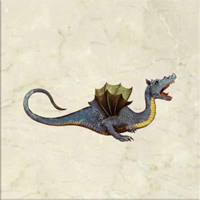Draco Aethiopicus alarus, Winged dragon of ethiopia, 1572