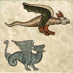 Dutch and flenish dragons