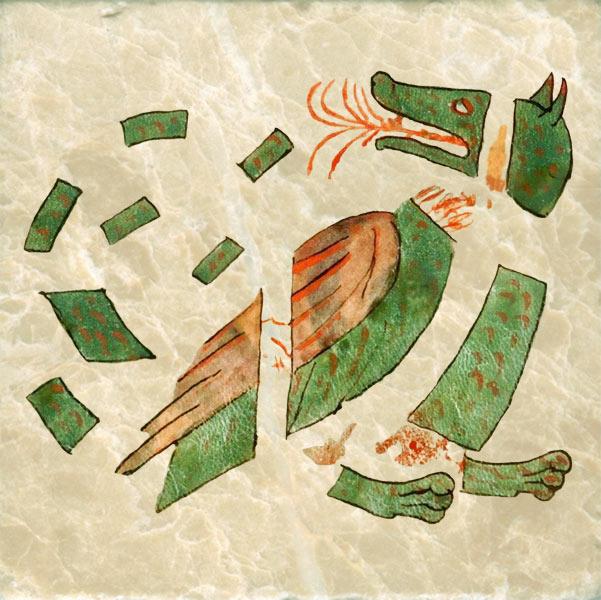 Early Cubist dragon, Amiens, 12th c.