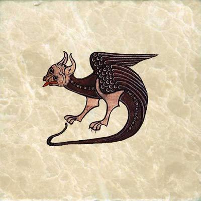 Hugh de Fouillay Dragon, 12th century france