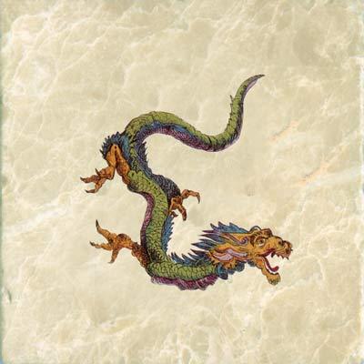 Japanese fire dragon