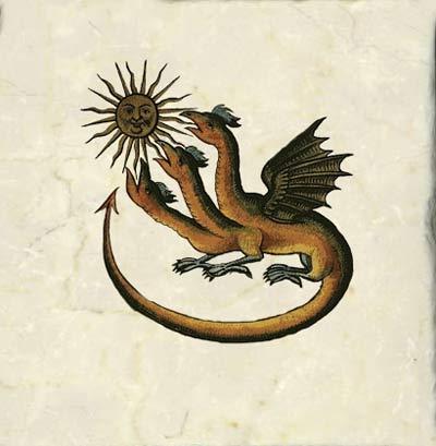 Zoroastrian dragons