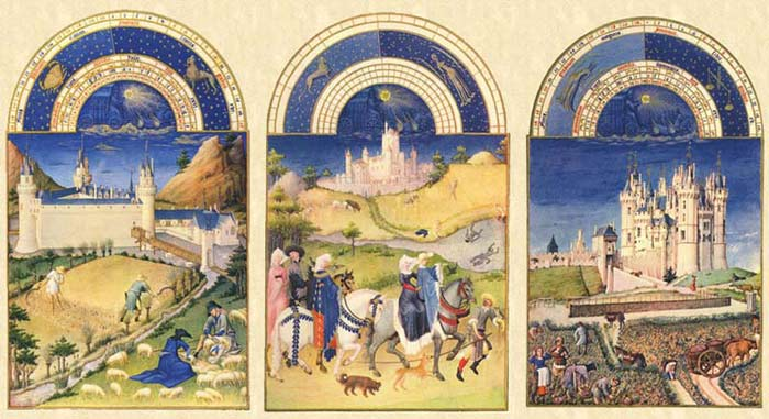 The summer months of the Très Riches Heures