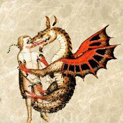 Dragon kisses, Chantilly, Musée Condé