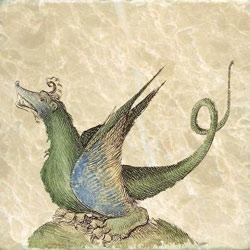 Liber Floridus, Dragon section title