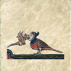 Love's sweet kiss, French breviary 13th century
