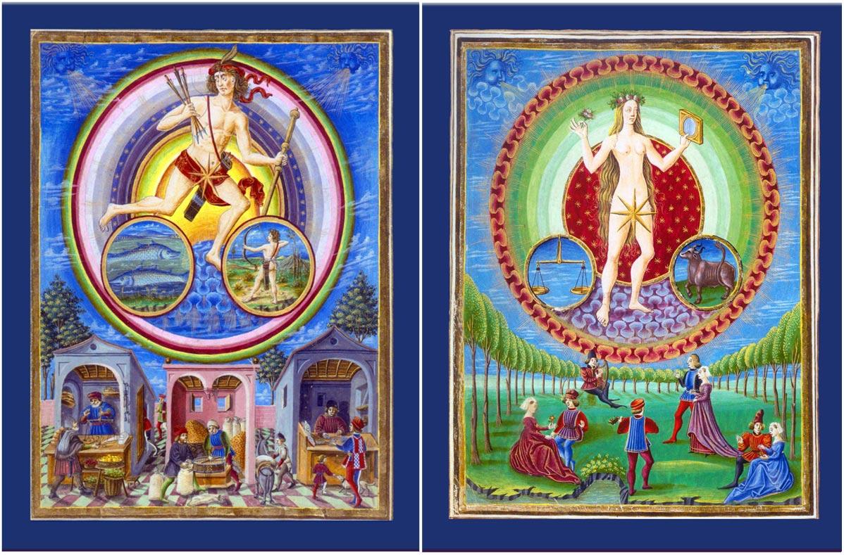 De Sphaera mundi, Jupiter and Venus