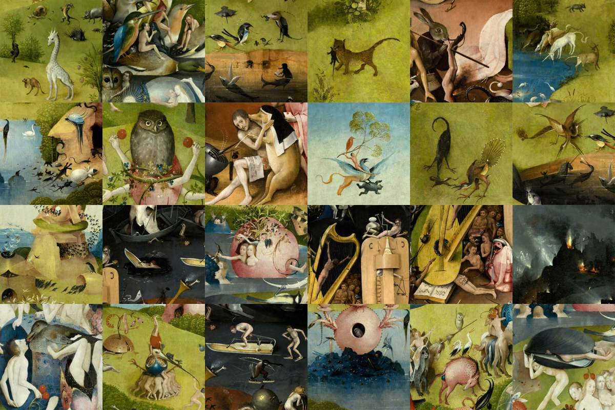 Garden of Earthly Delights, Accent Tiles