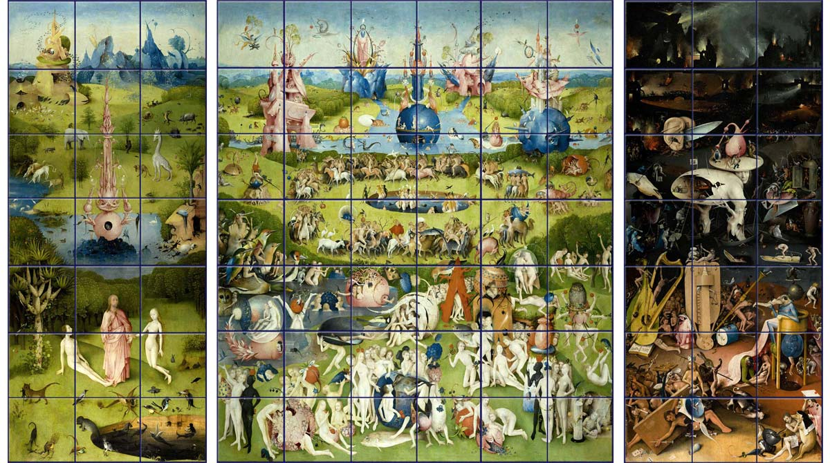 Garden of Earthly Delights mural