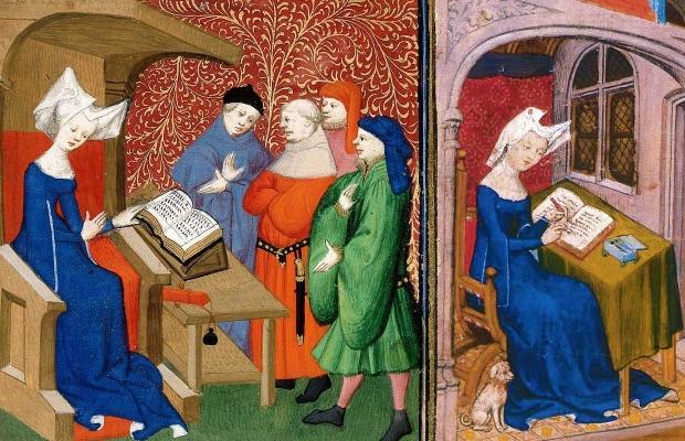 Christine of Pisan, reading