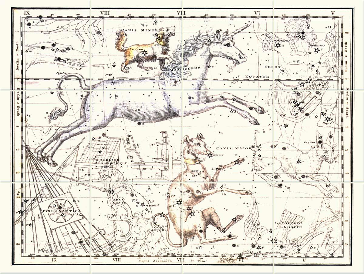 Jamieson Star Map, Monoceros