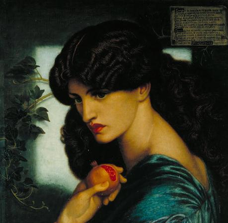 Proserpine, Dante Gabriel Rossetti, 1874