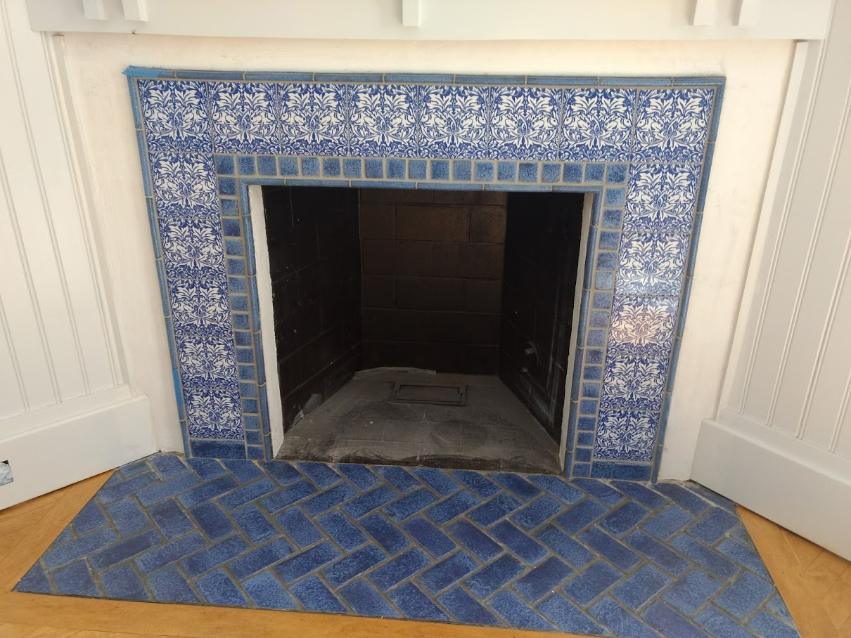 William Morris Brother Rabbit Fireplace, Lake Placid, New York