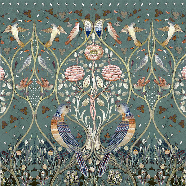 May Morris Spring and Summer tile