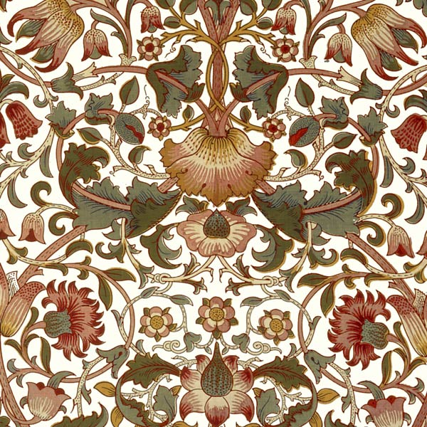 William Morris Lodden Tile, warm variation. from WilliamMorrisTile.com