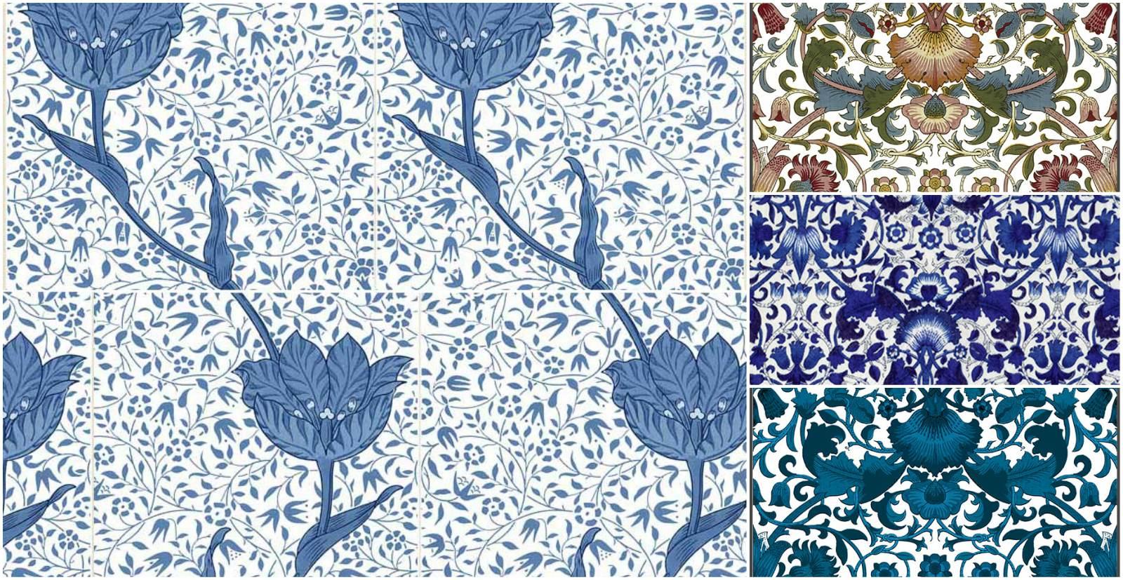 Medway (Tulip Vine) and Lodden Tiles