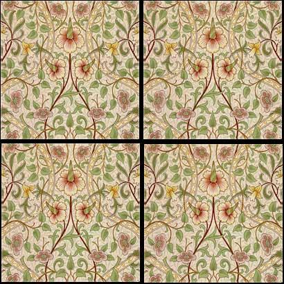 William Morris Daffodil pattern