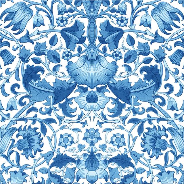 William Morris Lodden pattern, light blue