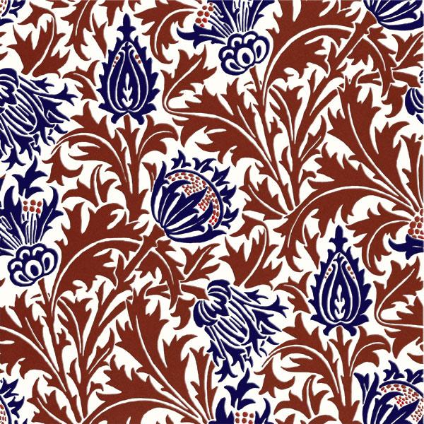 William Morris Thistle Tile