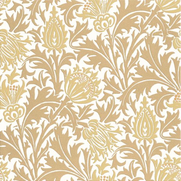 William Morris Thistle tiles, Summer Golds