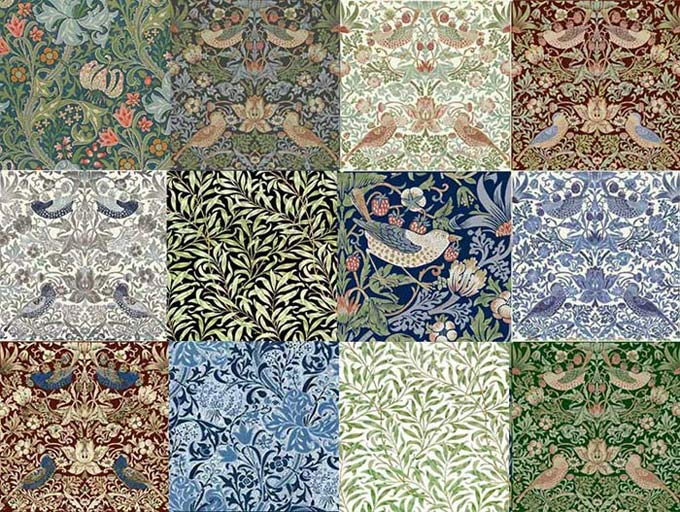 William Morris Tile: Tiles from Textiles
