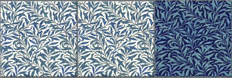 William Morris Willow Pattern In Blue And Green