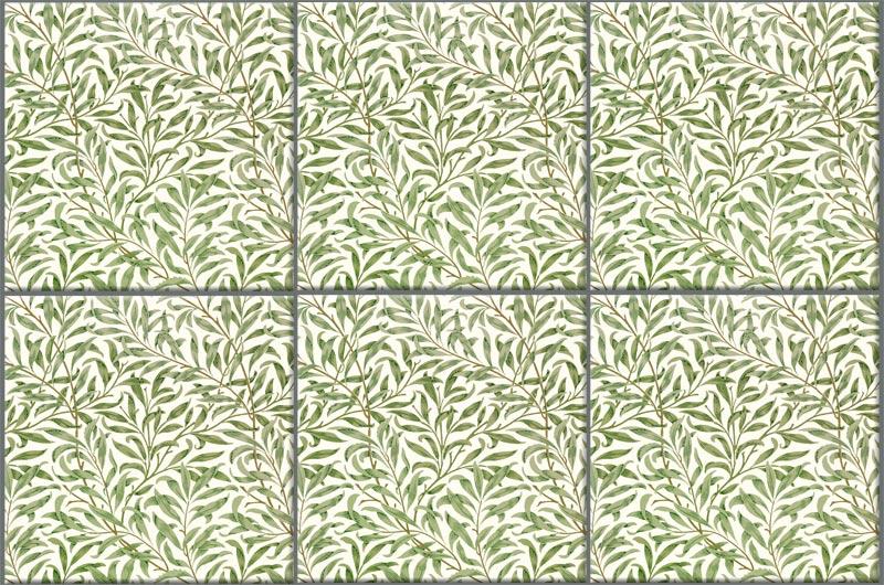 William Morris Willow tiles