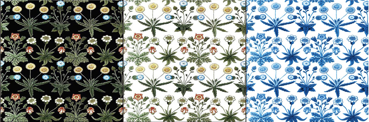 William Morris, Morris Marshall and Faulkner Daisies