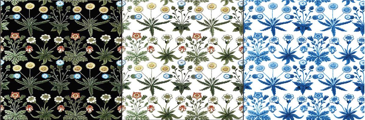 William Morris, Morris Marshall and Faulkner Daisies