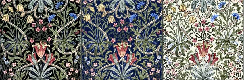 William Woodland Weeds Tiles