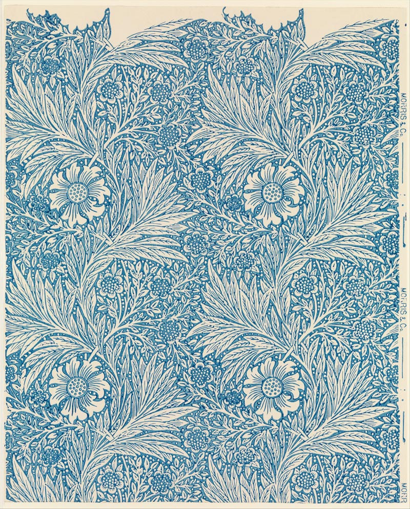 Marigold wallpaper, William Morris