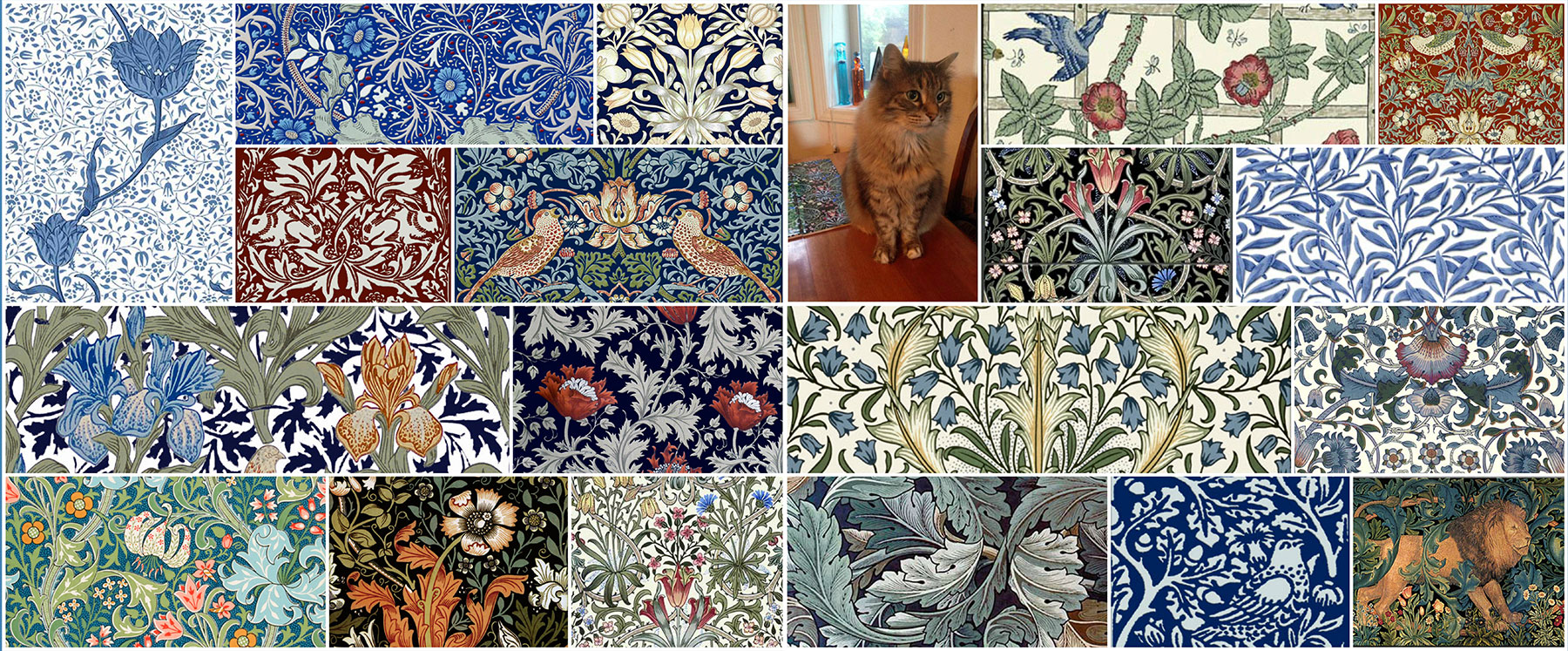 William Morris, William De Morgan, Arts and Crafts Tiles