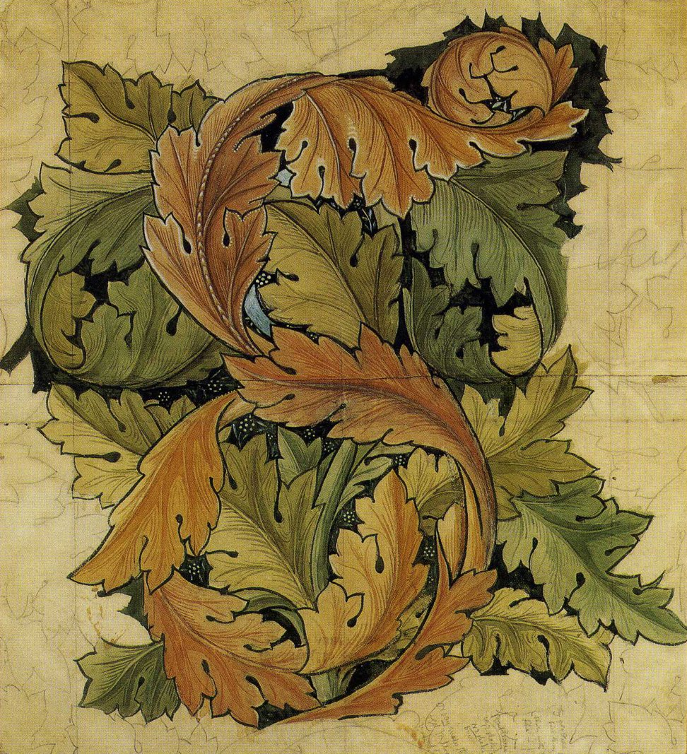 William Morris Acanthus design