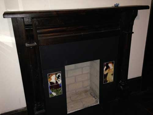 Beauty and the Beast Fireplace