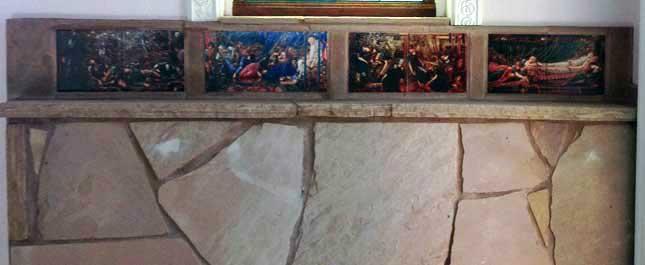 Edward Burne-Jones Briar Rose panels, North Richland, Texas