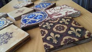 Victorian Palace of Westminster tiles