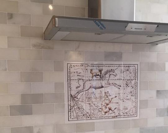 Monoceros Star Map, Installation part 1